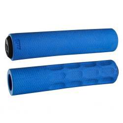Poignées de guidon ODI élastomère F1 Vapor 31.5 bleu