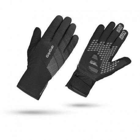 Gants longs GRIP GRAB hiver Ride Waterproof Winter noir décor gris