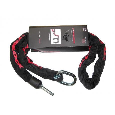 Chaine pour antivol TRELOCK sur cadre ZR455 140x8 noir pour RS350/450
