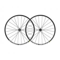 Roues à pneu 29p MAVIC vtt Crossmax 29 ID360 XD noire décor blanc