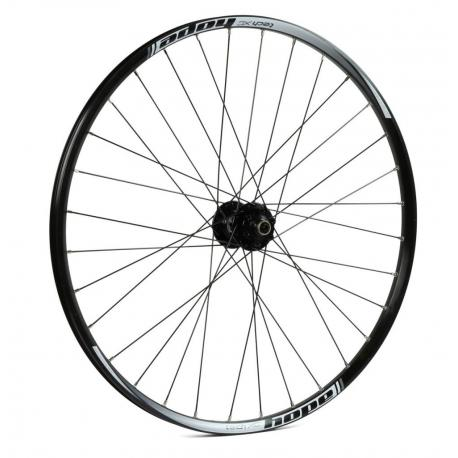 Roue à pneu 26p HOPE vtt Tech XC R115/Hoops Pro 4 26 100 noire décor blanc avant