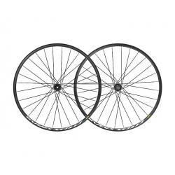 Roues à pneu 29p MAVIC vtt vae E-Crossmax 29 Boost ID360 SH noire décor blanc