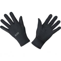 Gants longs GORE M Windstopper noir