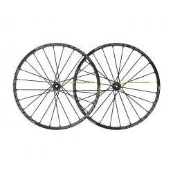 Roues à pneu 29p MAVIC vtt Crossmax Pro UST 29 ID360 XD noire décor gris