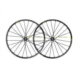 Roues à pneu 29p MAVIC vtt Crossmax Pro UST 29 Boost ID360 SH noire décor gris