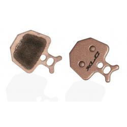 Plaquettes de frein XLC FORMULA support acier BP-D16S or Oro