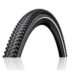 Pneu 700 CONTINENTAL route cx vtc CycloCross Plus 35 noir flancs noirs