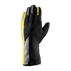 Gants longs MAVIC hiver Vision Thermo noir décor jaune et réfléchissant