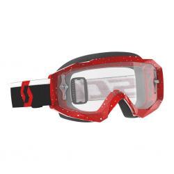 Masque SCOTT vtt et bmx Hustle X MX rouge verni décor blanc