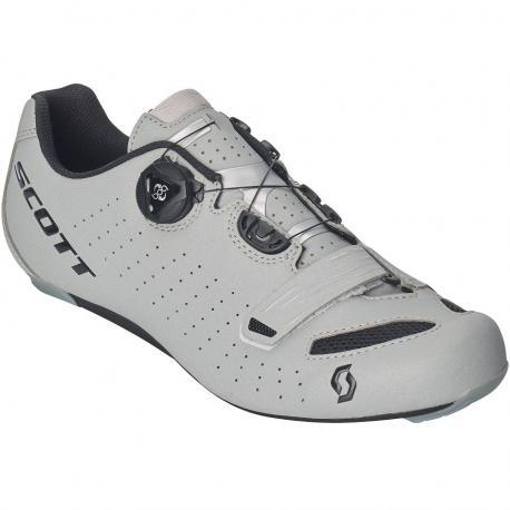 Chaussures SCOTT route Road Comp Boa gris réfléchissant décor noir