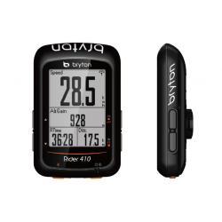 Compteur GPS vélo BRYTON Rider 410 Cardio - Noir