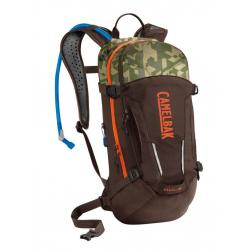 Sac hydratation CAMELBAK route ou vtt Mule marron décor camouflage et orange