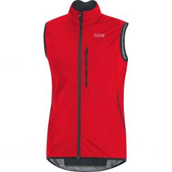 Gilet sans manches GORE C3 Windstopper Light Vest rouge