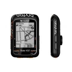 GPS vélo BRYTON compteur Rider 450 noir